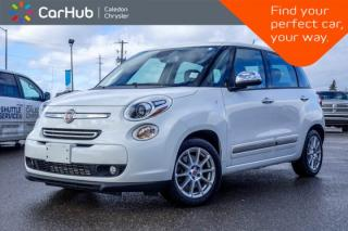 Used 2014 Fiat 500 L Lounge|Pano Sunroof|Backup Cam|Bluetooth|Leather|Heated Front Seats|17