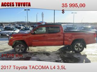 Used 2017 Toyota Tacoma 4x4 Double Cab V6 for sale in Rouyn-Noranda, QC
