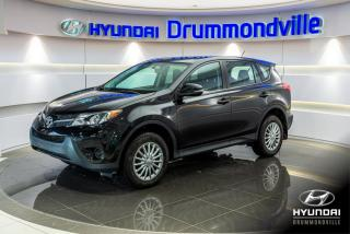 Used 2014 Toyota RAV4 LE + AWD + GARANTIE + CAMÉRA + CRUISE + for sale in Drummondville, QC