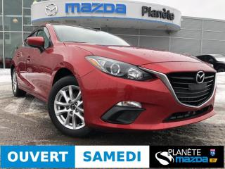 Used 2016 Mazda MAZDA3 GS AUTO TOIT AIR CRUISE BLUETOOTH for sale in Mascouche, QC