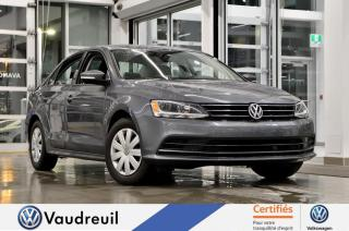 Used 2016 Volkswagen Jetta 1.4 TSI Trendline+ * CAM. RECUL * BLUETO for sale in Vaudreuil-Dorion, QC