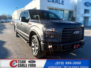 Used 2017 Ford F-150 Ford F-150 S/Crew XLT 2017, GPS, Caméra for sale in Gatineau, QC