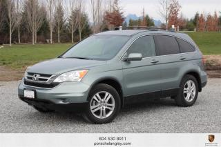 Used 2010 Honda CR-V EX-L 4WD at Local BC Unit, No Accidents Reported! for sale in Langley City, BC