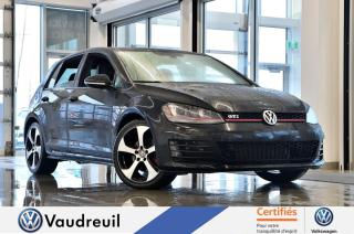 Used 2017 Volkswagen Golf GTI Autobahn * CUIR * FENDER * 18 PO for sale in Vaudreuil-Dorion, QC