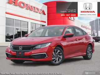 New 2020 Honda Civic EX for sale in Cambridge, ON