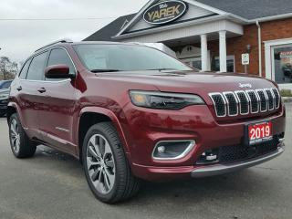 Used 2019 Jeep Cherokee Overland 4x4, Leather Heated/Vented Seats, NAV, Tech Pkg, Remote Start for sale in Paris, ON