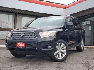 Used 2010 Toyota Highlander HYBRID Limited HYBRID LIMITED | Navigation | Leather for sale in Waterloo, ON
