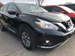 Used 2016 Nissan Murano SV Loaded! AWD, NAV, Panoramic Roof, Heated Steering and Seats, BackupCam, Bluetooth and More! for sale in Kemptville, ON