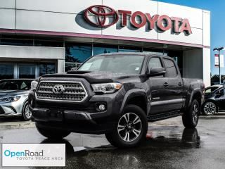 Used 2016 Toyota Tacoma 4x4 Double Cab V6 TRD Sport 6A (US Model) Navigation! Heated seats! Sunroof! for sale in Surrey, BC