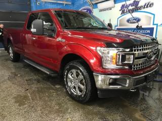 Used 2018 Ford F-150 XLT 4WD SuperCab Box for sale in Val-D'or, QC