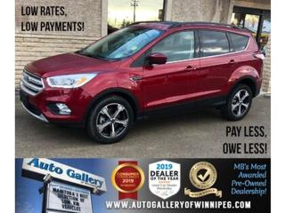 Used 2018 Ford Escape SEL *AWD/Navi/B.tooth/Htd Seats/Pano Roof for sale in Winnipeg, MB