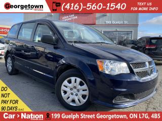 Used 2016 Dodge Grand Caravan ONLY 36,821KM | DUAL CLIMATE | ECO MODE | AUX IN for sale in Georgetown, ON
