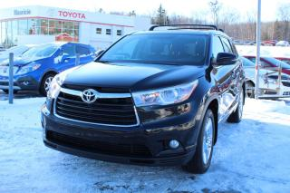 Used 2016 Toyota Highlander Traction intégrale 4 portes Limited for sale in Shawinigan, QC