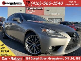 Used 2015 Lexus IS 250 AWD | SUNROOF | CAMERA | HTD/COOLED SEATS |LEATHER for sale in Georgetown, ON