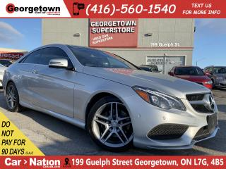 Used 2014 Mercedes-Benz E-Class COUPE | AWD | NAVI | PANO ROOF | 360 CAM | for sale in Georgetown, ON