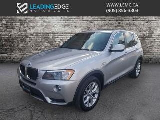 Used 2013 BMW X3 xDrive28i Navigation, Sunroof, Heated Seats for sale in Woodbridge, ON