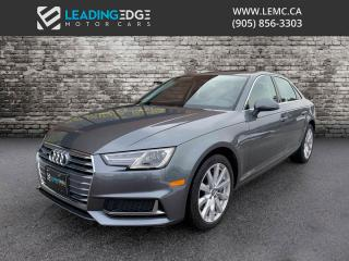 Used 2019 Audi A4 Apple CarPlay, Android Auto for sale in Woodbridge, ON