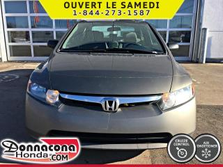 Used 2007 Honda Civic DX-G *AUTOMATIQUE*PROPRE* for sale in Donnacona, QC