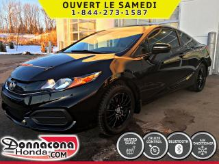 Used 2014 Honda Civic LX COUPE *GARANTIE 10 ANS/200 000KM* for sale in Donnacona, QC