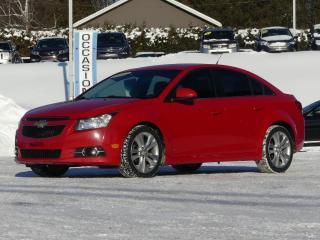 Used 2012 Chevrolet Cruze LT/RS TURBO AUTOM. 53$/sem tx inc. for sale in St-Georges, QC