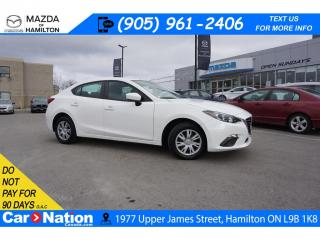 Used 2016 Mazda MAZDA3 GX | REAR CAM | TOUCH SCREEN | LOW KMS for sale in Hamilton, ON