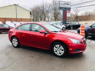 Used 2012 Chevrolet Cruze 1.4L-Air-Bluetooth-Cruse-Econo-Jamais Accidentée for sale in Laval, QC