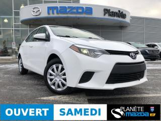 Used 2014 Toyota Corolla LE AUTO DÉMARREUR AIR BLUETOOTH for sale in Mascouche, QC