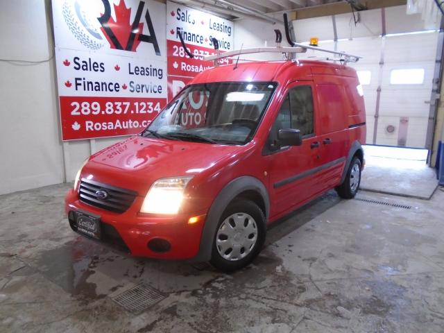 2011 Ford Transit Connect LOW KM NO ACCIDENT SAFETY SHELVES LADDER P INV