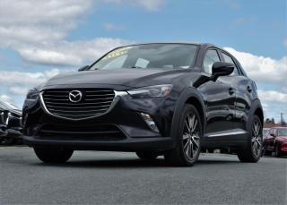 Used 2016 Mazda CX-3 GT AWD CUIR/TOIT OUV. 75$/sem taxes inc. for sale in St-Georges, QC