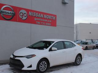 Used 2018 Toyota Corolla LE/HEATED SEATS/BACKUP CAM for sale in Edmonton, AB