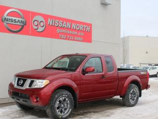 New 2019 Nissan Frontier PRO-4X/4X4/KING CAB/HEATED SEATS for sale in Edmonton, AB