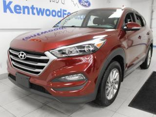 Used 2017 Hyundai Tucson Premium AWD with heated front and rear seats, heated steering wheel and a back up cam for sale in Edmonton, AB