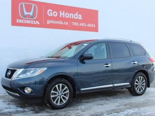 Used 2014 Nissan Pathfinder SL, AWD, 7-PASS, PANO ROOF, LEATHER for sale in Edmonton, AB