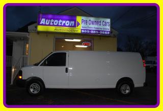 Used 2016 GMC Savana 3500 1 Ton EXT. Cargo Van, Loaded for sale in Woodbridge, ON