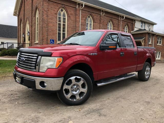 2011 Ford F-150 XLT - SUPERCREW - 4X4 - CERTIFIED