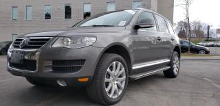 Used 2010 Volkswagen Touareg Cerified Navigation Camera AWD Bluetooth Warranty for sale in Mississauga, ON