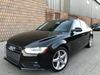 Used 2013 Audi A4 2.0TFSI-QUATTRO-NAVI-CAMERA-BLIND SPOT-B&O for sale in Toronto, ON