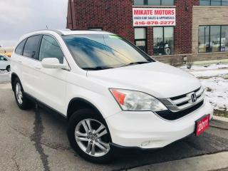 Used 2011 Honda CR-V EX-L for sale in Rexdale, ON