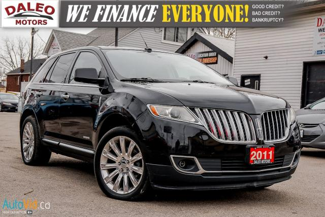 2011 Lincoln MKX LIMITED | AWD | MOONROOF | HEATED SEATS | NAV |