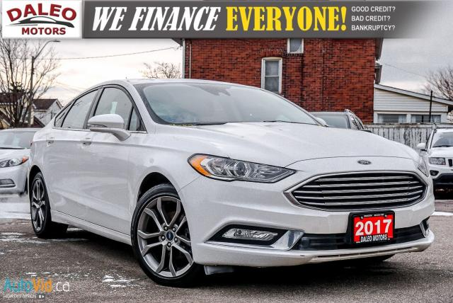 2017 Ford Fusion SE | HEATED SEATS | NAV | MOONROOF | BACKUP CAM |