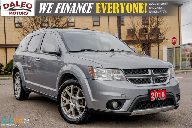 2016 Dodge Journey R/T | 7 PASSENGER | AWD | HEATED SEATS |