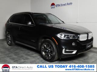 Used 2015 BMW X5 xDrive35d Diesel AWD Nav Pano HUD Camera Certified for sale in Toronto, ON