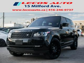Used 2015 Land Rover Range Rover SC for sale in North York, ON