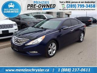 Used 2011 Hyundai Sonata Limited, Bluetooth, Leather, Sunroof for sale in Whitby, ON