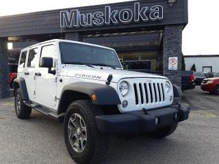 Used 2017 Jeep Wrangler JK Unlimited RUBICON for sale in Bracebridge, ON