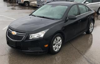 Used 2012 Chevrolet Cruze /BLUETOOTH/LOOKS & DRIVES GREAT/ONLY 145 KMS!!; for sale in Hamilton, ON