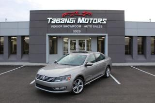 Used 2012 Volkswagen Passat HIGHLINE I NO ACCIDENTS I NAVIGATION I PUSH START I LEATHER for sale in Mississauga, ON
