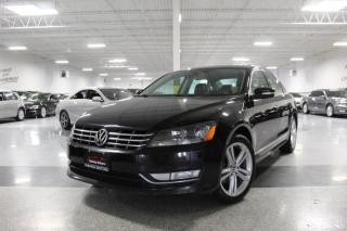 Used 2013 Volkswagen Passat NO ACCIDENTS I SUNROOF I LEATHER I HEATED SEATS I CRUISE for sale in Mississauga, ON