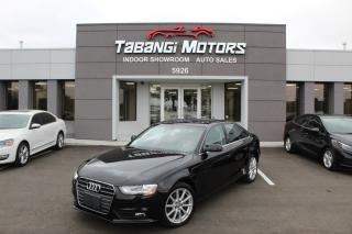 Used 2014 Audi A4 PROGRESSIVE I NO ACCIDENTS I NAVIGATION I SUNROOF I LEATHER for sale in Mississauga, ON