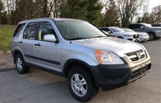 Used 2003 Honda CR-V 4x4/RUNS & DRIVES LIKE NEW/0NLY 180,000 KMS!!! for sale in Hamilton, ON